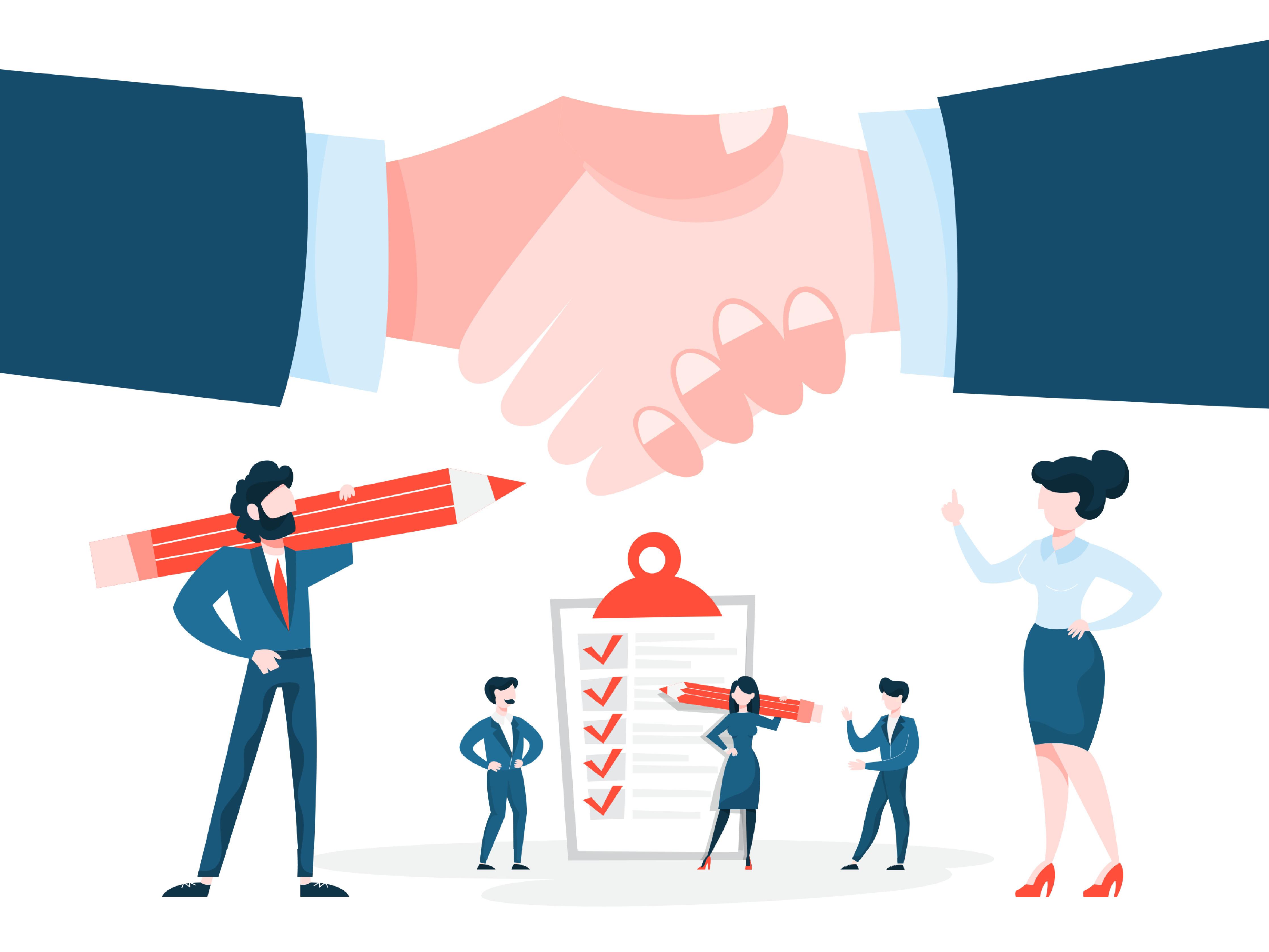 B2B Marketing - Flywheel Strategic stock image