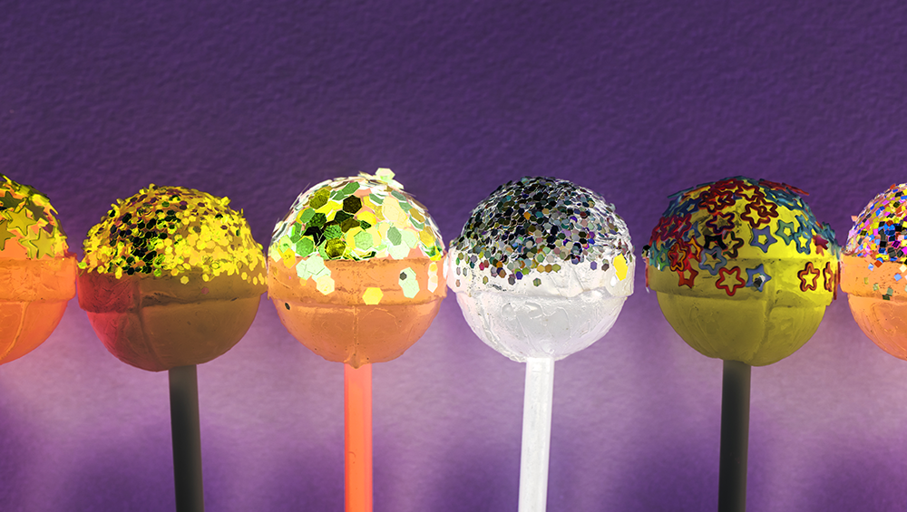 one different lolipop