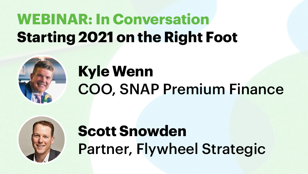 Promoting webinar. A conversation with Kyle Wenn and Scott Snowden. Getting 2021 off to a good start.