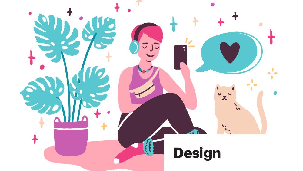 trendy design image
