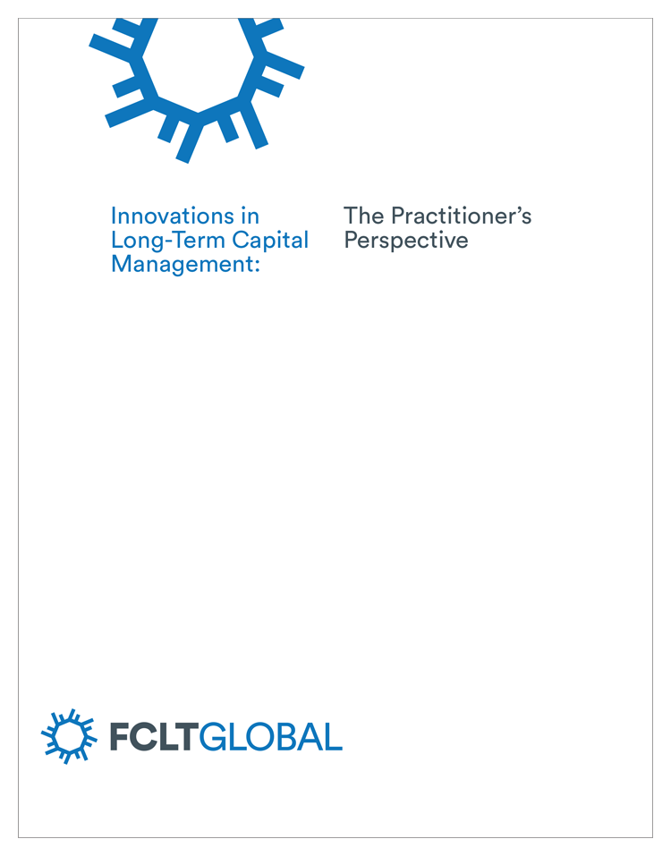 FCLTGlobal's report cover