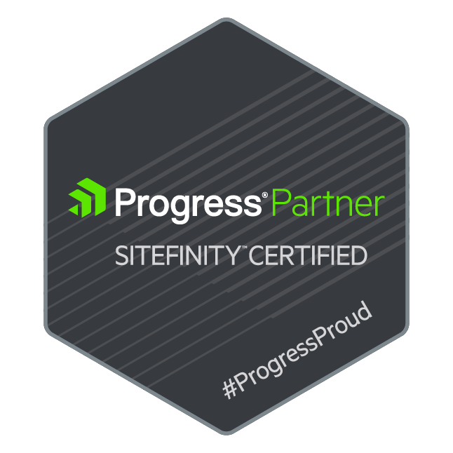 Sitefinity Certified Medallion