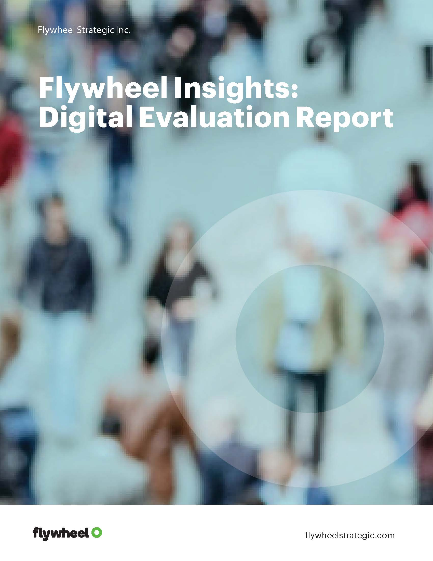 Cover page of Flywheel insights report